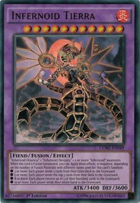 Infernoid Tierra (CORE-EN049) - Ultra Rare - Near Mint - 1st Edition