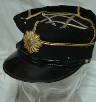 Vintage WWII Japanese Military cap hat M0719