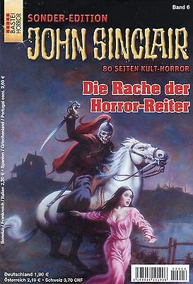 JOHN SINCLAIR SONDER-EDITION Band 6 - Die Rache der Horror-Reiter - Jason Dark