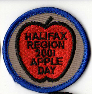 Halifax Area Apple Day 2001 Scouts Canada