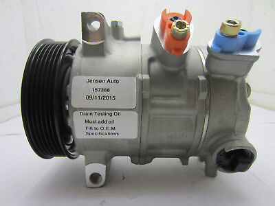 AC Compressor For Caliber Compass Patriot (1year Warranty) R157388