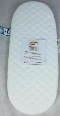 2 x QUILTED BREATHABLE MATTRESSES TO FIT ICANDY PEACH TWIN BLOSSOM CARRYCOTS