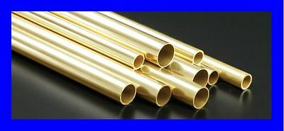Brass Tubes   up 5mm-to 25mm     Wall 1mm.  Various Sizes