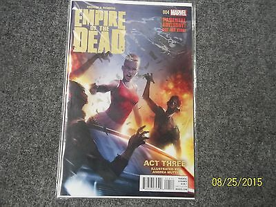 George A. Romero Empire of the Dead Act 3 # 4 FIRST PRINTING NM