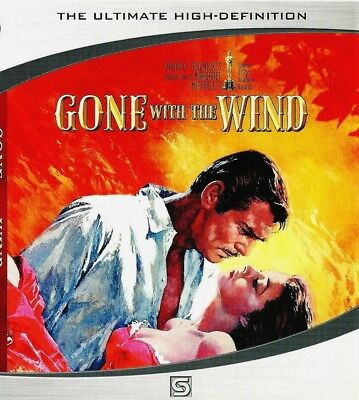 """NEW Blu-ray """" Gone With The Wind """" (1939)  Clark Gable, Vivien Leigh"""