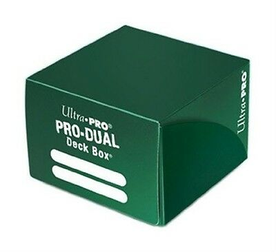 Ultra Pro Green Pro Dual Deck Box. Free Shipping