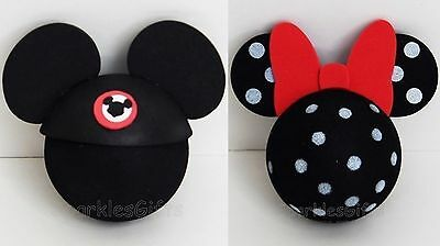 Disney - Mickey Mouse Club & Minnie Mouse Polka Dot Antenna Toppers Lot of 2