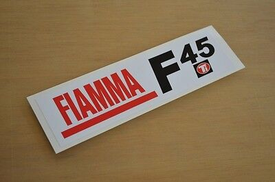 FIAMMA F45ti - (PRINTED) - Motorhome Sticker Decal Graphic - (EASY-FIX) - SINGLE