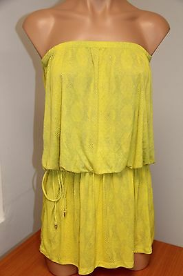 NWT Cia Maritima Green Sundress Swimsuit Cover Up size Large