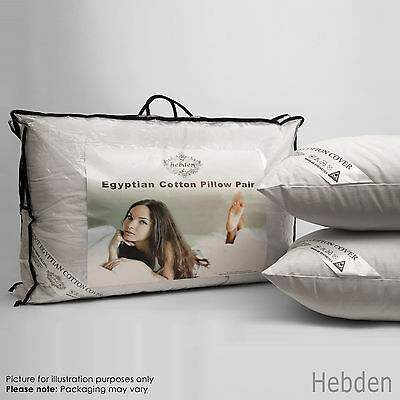 Pack of 2, 4 or 8 Luxury Egyptian Cotton Bed Pillows Hotel Quality
