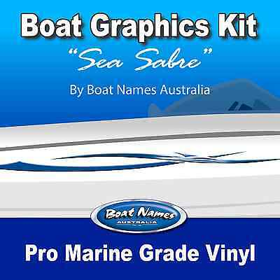 "1800/""  MARINE CAST VINYL BOAT GRAPHICS DECAL STICKER KIT /""ATLANTIC"