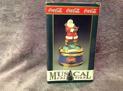Coca-Cola Musical Collection - Travel Refreshed - Santa - 1995