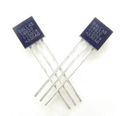 5PCS,DALLAS DS18B20 18B20 TO-92 Thermometer Temperature Sensor