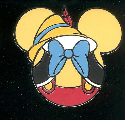 Mickey Mouse Icon Mystery Pouch Pinocchio Disney Pin 86546