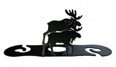 Village Wrought Iron WRC-19 Moose Wine Caddy. Shipping Included