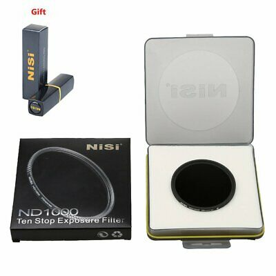 NiSi 58mm Pro ND1000 Ultra Slim Multi-Coated 10-Stops Neutral Density ND Filter