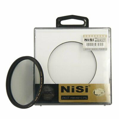 NiSi 55mm Ultra Slim PRO MC Multi Coated AGC Optical Glass CPL Lens Filter