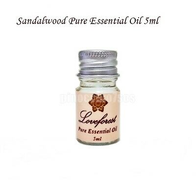 Sandalwood Pure Essential Oil 5 ml Natural Aromatherapy Free Shipping