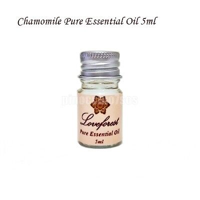 Chamomile Pure Essential Oil 5 ml Natural Aromatherapy Free Shipping