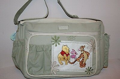 Disney Winnie the Pooh Postcard Large Nappy Bag. Shipping is Free