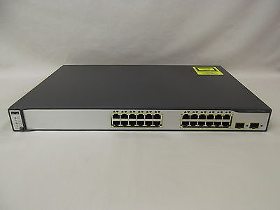 Cisco Catalyst WS-C3750-24TS-S Layer 3 Network Switch 24-Ports Cisco 3750