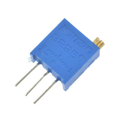 50pcs 3296 W High Precision Variable Resistor Potentiometer Trimmer 103 10K ohm