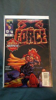 X-Force #73 The Death of Warpath VF to NM