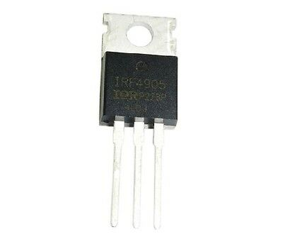 10pcs IRF4905 IRF4905PBF Power MOSFET 74A 55V P-Channel IR TO-22 RS