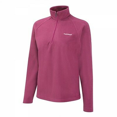 Craghoppers Womens Basecamp Warm Winter Fleece Jumper Pink **RRP £20**