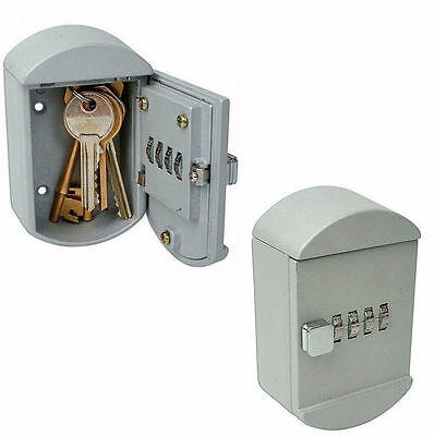 Wall Mounted Combination Code House / Car / Shed 5 Key Safe / Storage