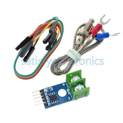 MAX6675 Module + K Type Thermocouple Thermocouple Sensor for Arduino NEW