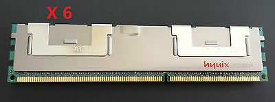 48GB 6x8GB ddr3 PC3L-10600R MEMORY RAM  FOR SERVER DELL R610 R710