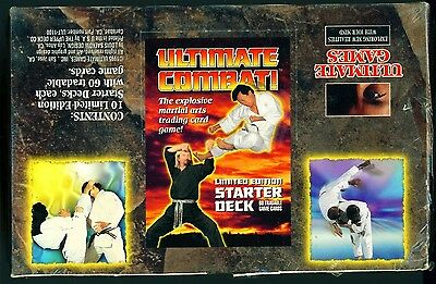 Ultimate Combat! Martial Arts Trading Card Game Starter Deck Box. Free Delivery