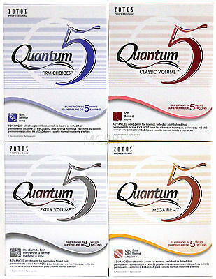Zotos Professional Quantum 5 Advanced Hair Perm Application (Choose Formula)