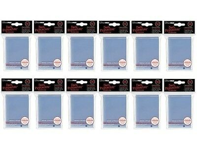 (600x) Ultra PRO Clear Deck Protectors Sleeves Standard MTG Colours. Best Price