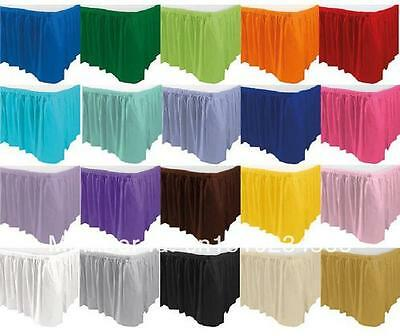 5 polyester table skirts 14 x 29 made in usa banquet buffet 5 polyester table skirts 14 x 29 made in usa banquet buffet skirting 3 watchthetrailerfo