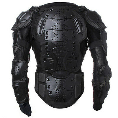 Motorcycle Full Body Armor Jacket Spine Chest Protective Gear Motocross Racing