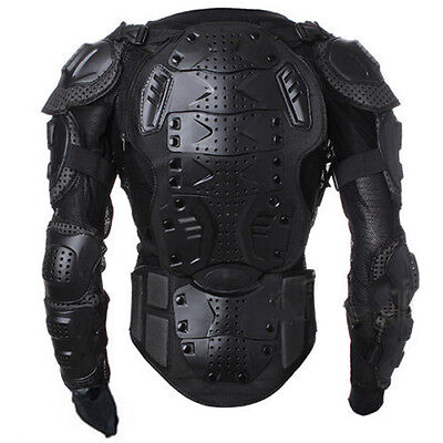 Motorcycle Jacket Spine Chest Protective Gear Motocross Racing Full Body Armor