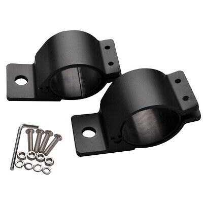 "2X 3"" 76-81mm Bull Bar Roll Cage Tube Mount Bracket Clamps LED Light Bar Holder"