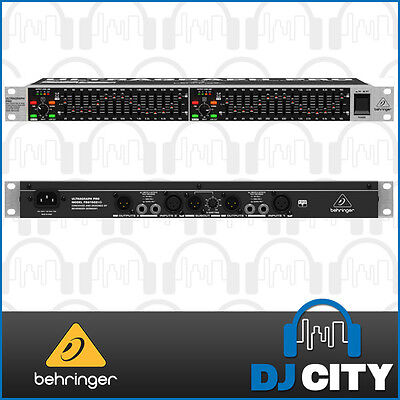 Behringer Ultragraph Pro FBQ1502HD High-Def 15-Band Dual Channel Graphic EQ