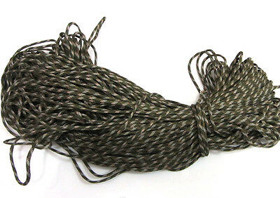 100FT Camouflage Paracord Rope 7 strand Parachute Cord CAMPING HiKING