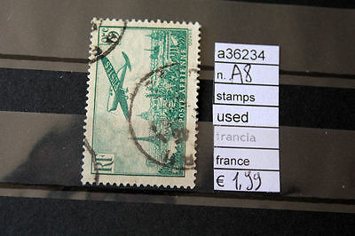 Stamps Francobolli Francia France Used N. A8 (A36234)