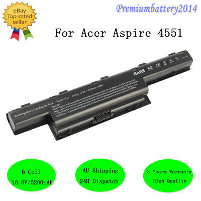 for Acer Aspire AS10D31 4741 4743G 5551 5552 5742 7741 7551 5200mAh Battery AU