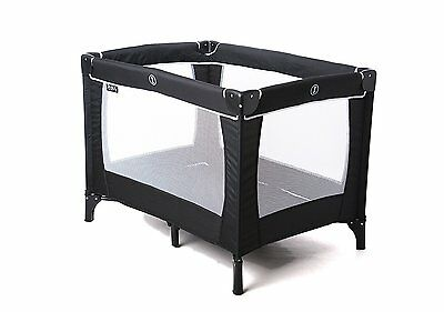 Red Kite Sleeptight BLACK Travel Cot - QUICK DISPATCH (Fitted Sheet Available)