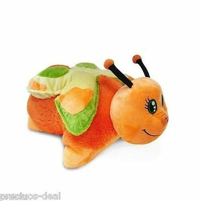 "Original Mookie 18"" Pillow Pets Orange Butterfly with Soft Cuddly Toy"