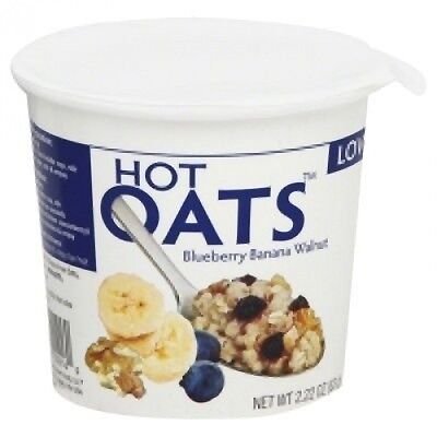 Love Grown Foods Hot Oats Blueberry Banana Walnuts -- 70ml. Shipping Included