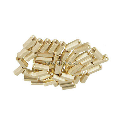 20pcs M3 12 mm Hexagonal net nut Female brass Standoff/Spacer New Good Quality