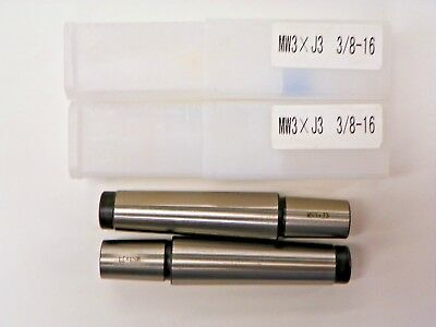 #3 Morse Taper To Jacobs #3 Drill Arbor  B920