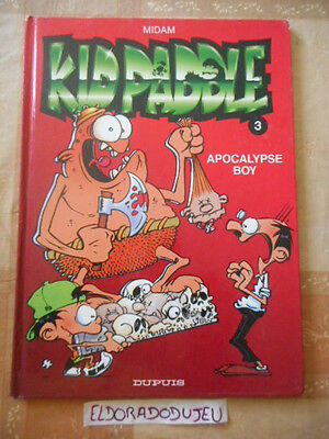 Eldoradodujeu   Bd - Kid Paddle 3 Apocalypse Boy - Dupuis 2000 Be
