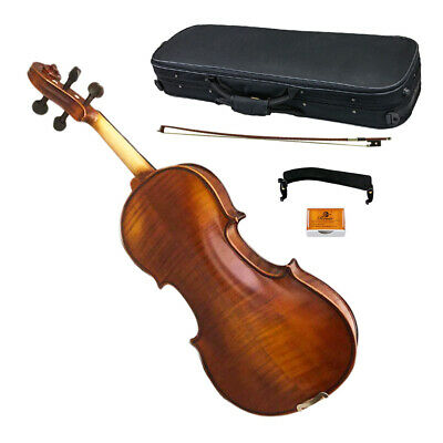 Professional Hand-made 4/4 Full Size Satin Acoustic Violin Antique Finish Sale